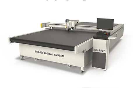 Digital Flatbed Cutter With Collecting Table
