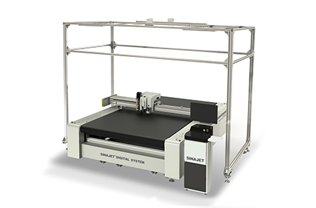 Digital Cutter With Scanning System