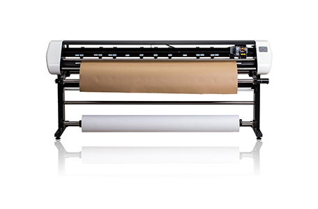 Vertical Inkjet Digital Fabric Cutter
