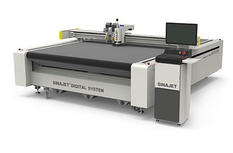 Digital Cutting Machine With Conveyer Table