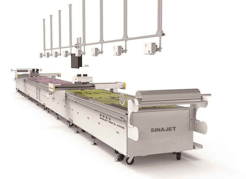 Digital Cutting Machine With Projection System