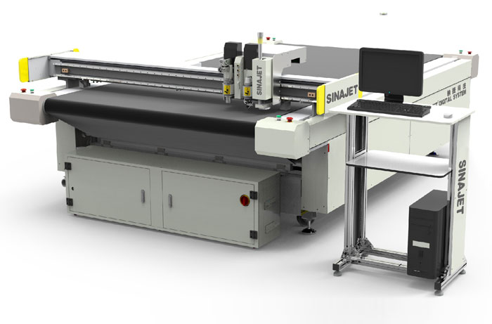 DK Series Garment Fabric Cutting Machine